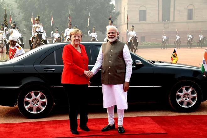 angela merkel, angela merkel modi meeting, india - germany relationship