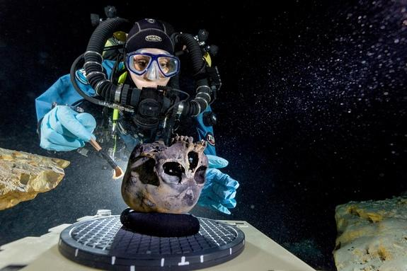 Underwater Cave Full of Ancient Bones to Be Mapped in 3D