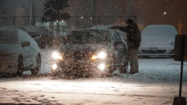 Winter travel advisories issued along Highway 401