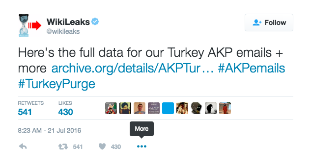 WikiLeaks Turkish emails
