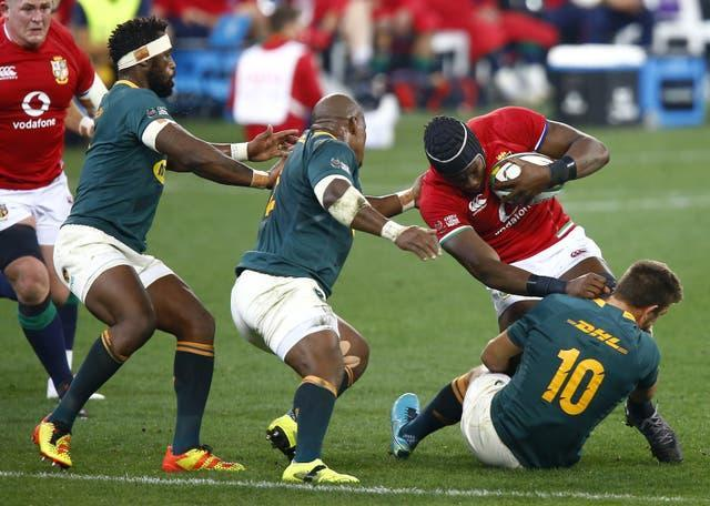 Maro Itoje was ever-present for the British and Irish Lions in South Africa