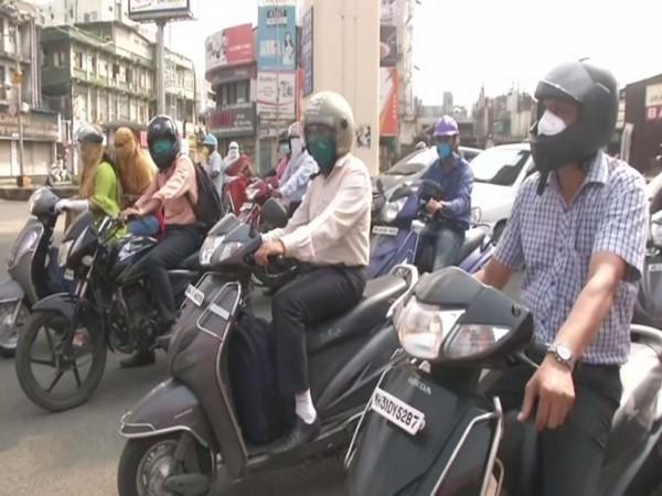 A visual from the streets of Nagpur. (Photo/ANI)