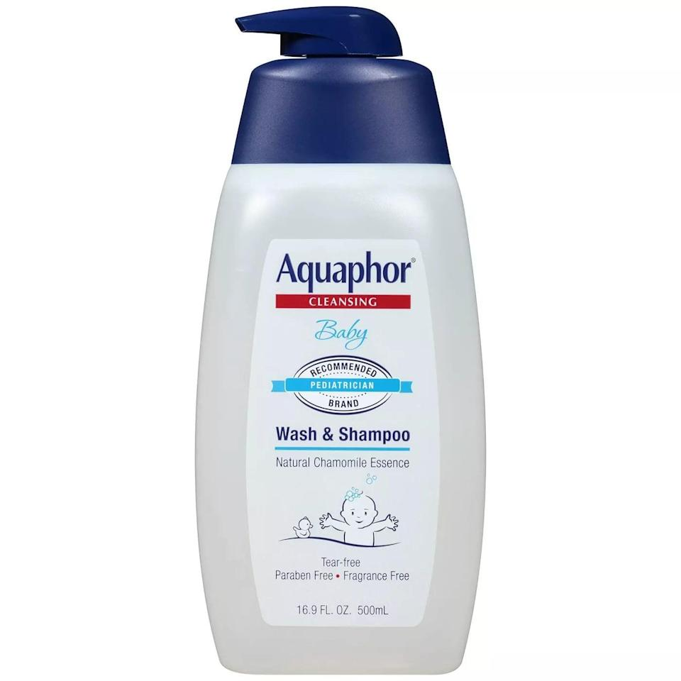 """<p>If your tattoo is fairly large and you're worried about scarring, Dr. Anderson said the key is Aquaphor. Both the <span>Aquaphor Baby Wash</span> ($11) and the <span>Aquaphor Healing Ointment</span> ($21) will be helpful for tattoo aftercare. """"A moist wound heals quicker, it heals stronger, and it heals with less of a scar,"""" Dr. Anderson explained. """"The old adage of 'keep a wound dry, let it breathe!' . . . well, wounds don't have lungs. They don't need to breathe. They need to be kept moist, and the best way to do that is with a little Aquaphor.""""</p>"""