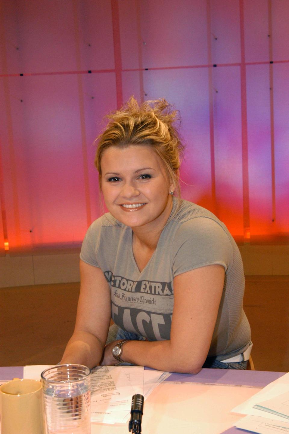 Back when she was Kerry McFadden (those were the days, eh?), the Atomic Kitten singer appeared as a panelist between 2003 and 2004.<br /><br />She was only 23 when she joined the show, making her the youngest Loose Woman regular ever, and her sometimes naive outlook on life meant she often clashed with Sherrie Hewson, providing many hilarious moments.