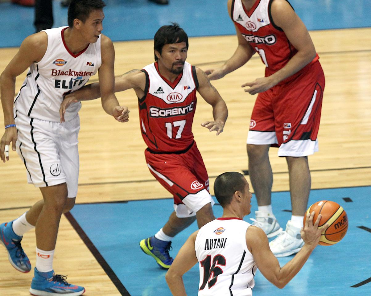 Manny Pacquiao chases dream to become professional ...