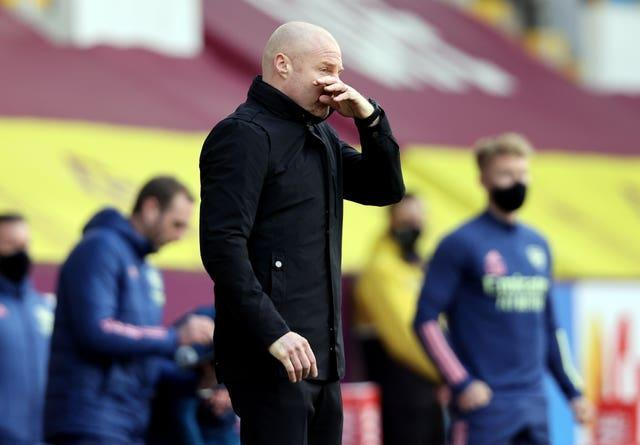 Burnley manager Sean Dyche was pleased with his side