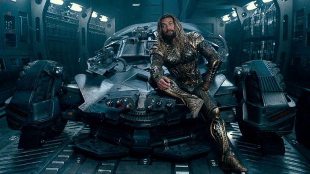 PHOTO: Jason Momoa, as Aquaman, in a scene from 'Justice League.' (Warner Bros. Pictures)