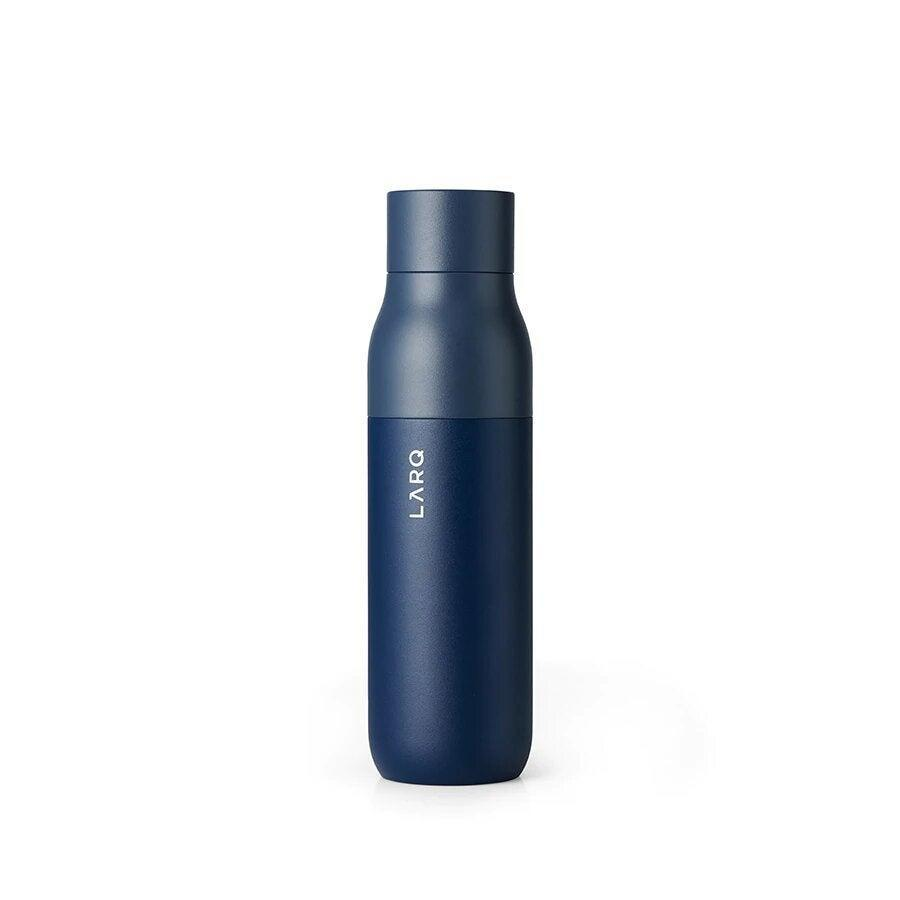 """<h3>LARQ Bottle</h3><br>Yes, it's expensive, but if you're constantly taking your H20 to go, then you may as well invest in something that'll last. LARQ's techy bottle uses innovative UV-C LED light to eliminate up to 99.9999% of bio-contaminants in 60 seconds with the touch of a button. Smart!<br><br><strong>LARQ</strong> Bottle, $, available at <a href=""""https://go.skimresources.com/?id=30283X879131&url=https%3A%2F%2Fwww.livelarq.com%2Fshop%2Flarq-bottle"""" rel=""""nofollow noopener"""" target=""""_blank"""" data-ylk=""""slk:LARQ"""" class=""""link rapid-noclick-resp"""">LARQ</a>"""