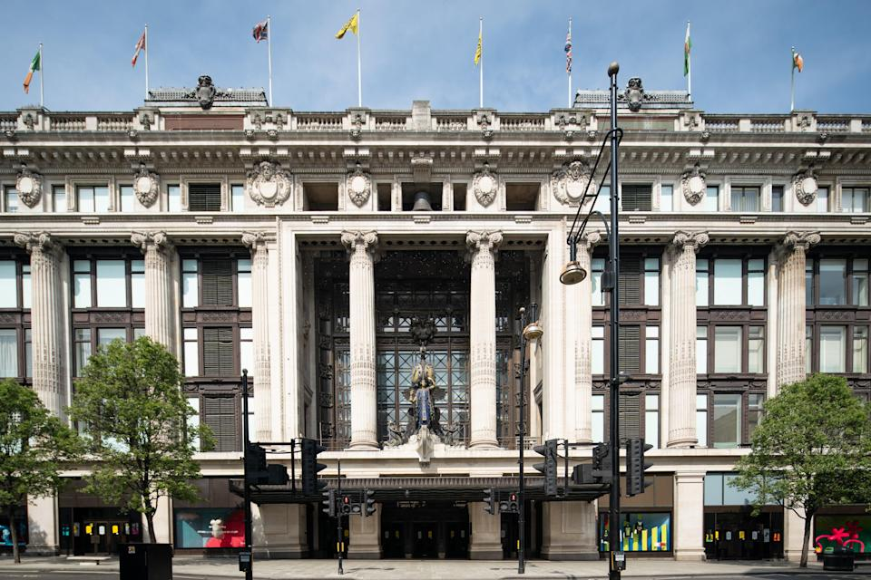 Selfridges' flagship store is on Oxford Street (PA Wire)