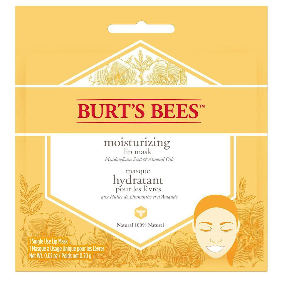 Burt's Bees Moisturizing Lip Mask (Photo via Amazon)