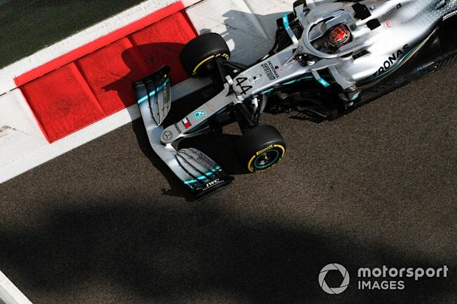 "Lewis Hamilton, Mercedes AMG F1 W10 <span class=""copyright"">Zak Mauger / Motorsport Images</span>"
