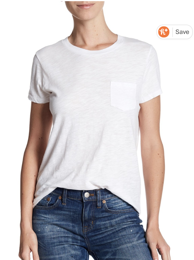 Madewell's Crewneck T-Shirt is the perfect go-to tee for a casual look. (Photo: nordstromrack.com)