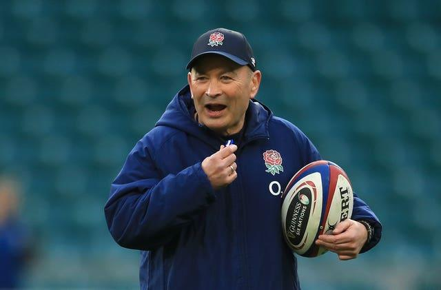 Eddie Jones was in a combative mood at England's team announcement on Thursday