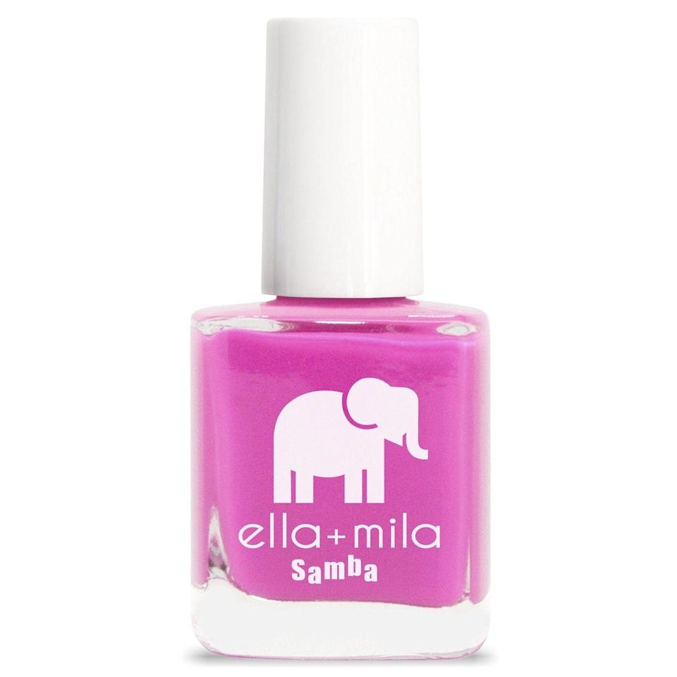 """<p>Yes, you can have a glossy, long-lasting manicure without all the bad stuff. This nine-free nail polish brand not only keeps your fingers safe from nasty chemicals, but also comes in tons of colors.</p><br><br><strong>Ella + Mila</strong> Nail Polish, $10.49, available at <a href=""""https://www.target.com/p/ella-mila-nail-polish-collection-0-45-fl-oz/-/A-53733010?preselect=52901114#lnk=sametab"""" rel=""""nofollow noopener"""" target=""""_blank"""" data-ylk=""""slk:Target"""" class=""""link rapid-noclick-resp"""">Target</a>"""