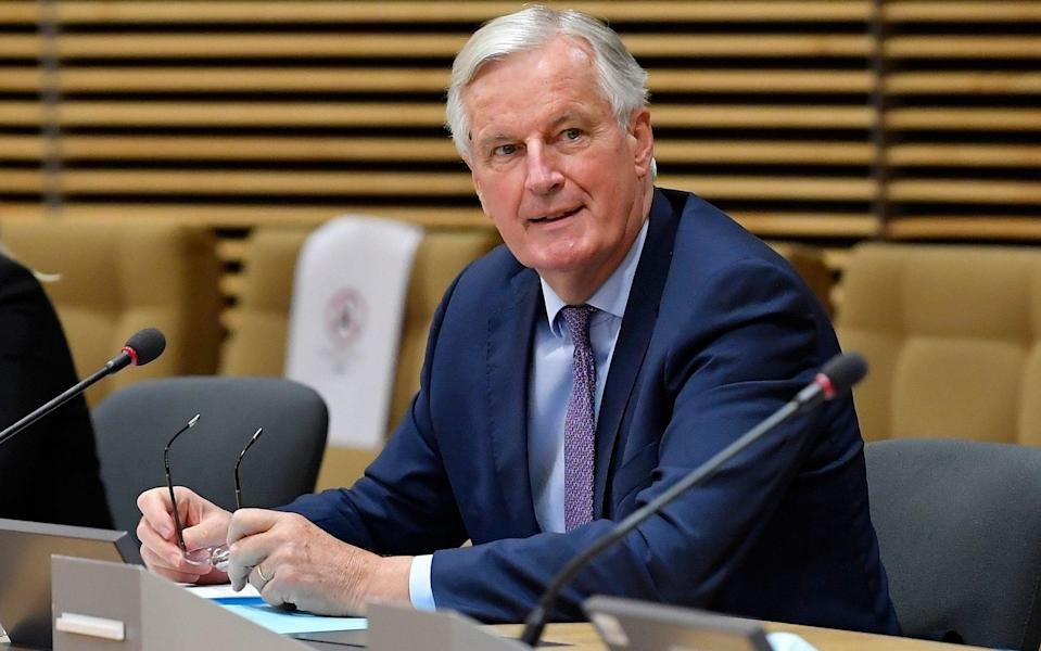 Michel Barnier, the EU's chief negotiator, said Brussels could agree to the use of zonal attachment, a key British request - Shutterstock