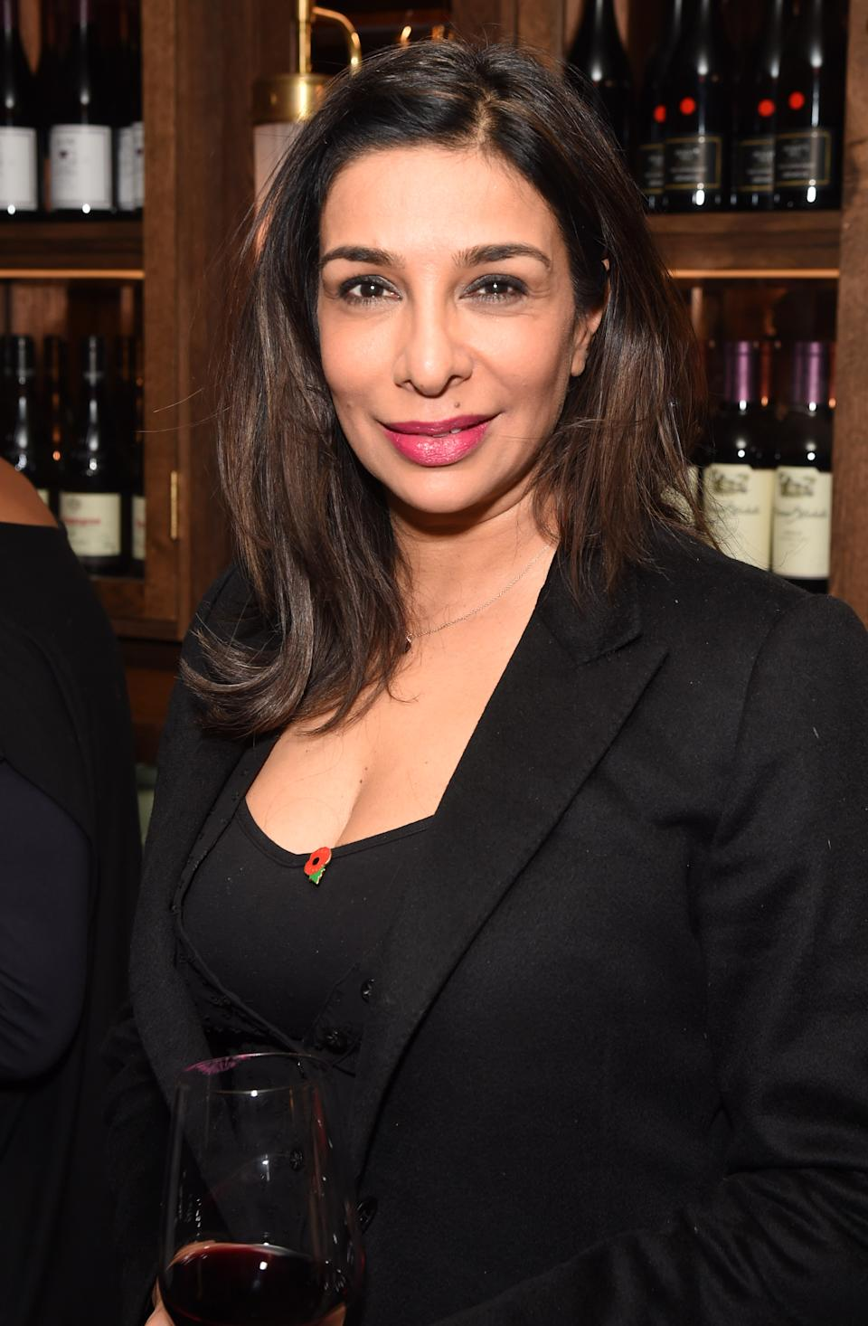 "LONDON, ENGLAND - NOVEMBER 09:  Shobna Gulati attends the press night after party for ""Glengarry Glen Ross"" at Smith & Wollensky on November 9, 2017 in London, England.  (Photo by David M. Benett/Dave Benett/Getty Images)"