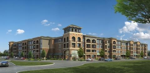 Dominion at Mercer Crossing Apartments Nearing Lease-Up
