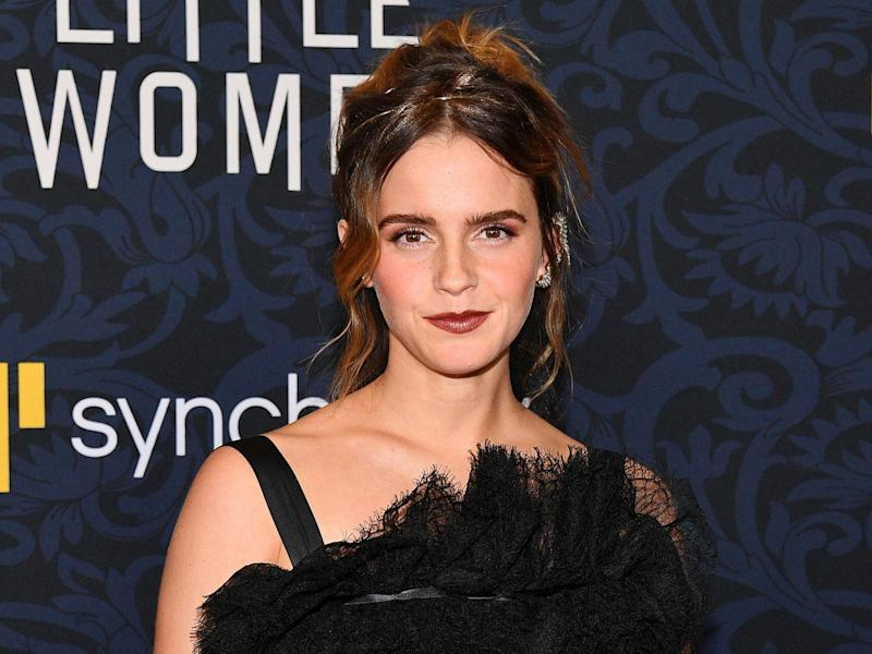 British actress Emma Watson is among the celebrities helping The Independent and Evening Standard to feed those who most need it: Getty