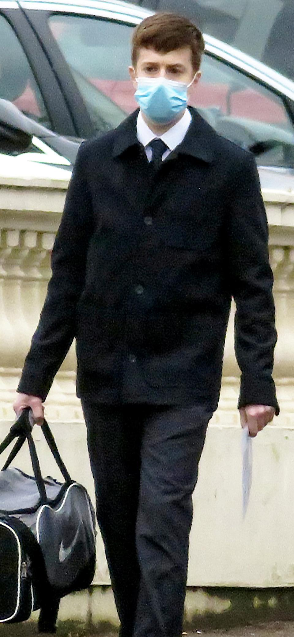 Simmons arriving at Warwick Crown Court on Friday(swns)