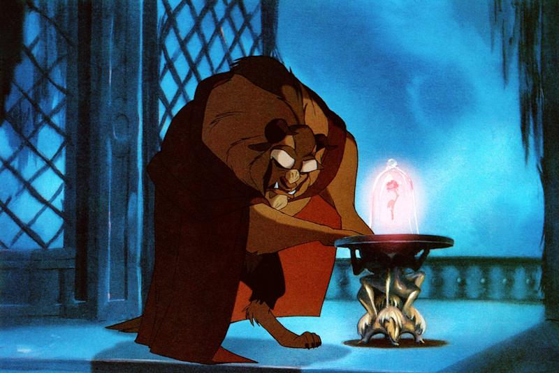 BEAUTY AND THE BEAST, the Beast, 1991. Buena Vista Pictures/courtesy Everett Collection
