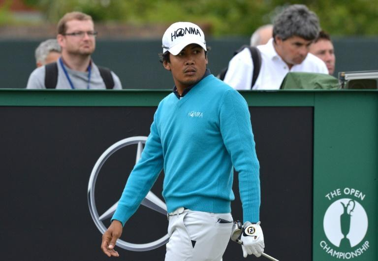 Juvic Pagunsan last appeared at the Open Championship at Hoylake in 2014
