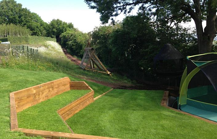 <p>Other outdoor features include a tree house, a playground, a fire pit and a zip wire, and plenty of bikes to barrel around the grounds.</p>