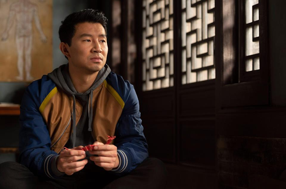 """Shang-Chi (Simu Liu) has to deal with unresolved feelings with his family in """"Shang-Chi and the Legend of the Ten Rings."""""""