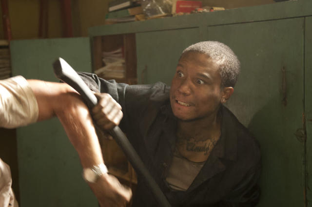 "Andrew (Markice Moore) in ""The Walking Dead"" episode, ""Killer Within."""