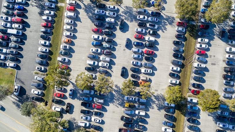 Brits spend more than five and a half million hours each year looking for their parked cars