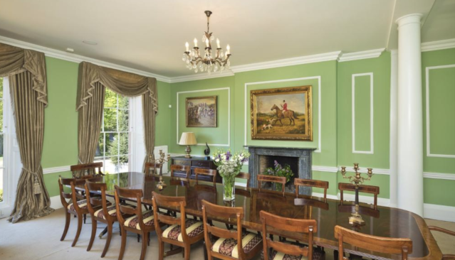 A dining room in the £6.5m property in Cambridgeshire. (Rightmove)
