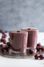 """<p>With fresh cherries, dates, coconut milk, and cocoa powder, this smoothie tastes like a chocolate-covered cherry treat. A drink that tastes like dessert for breakfast? Yes please. </p><p><a class=""""link rapid-noclick-resp"""" href=""""https://getinspiredeveryday.com/food/chocolate-covered-cherry-smoothie/"""" rel=""""nofollow noopener"""" target=""""_blank"""" data-ylk=""""slk:Get the recipe"""">Get the recipe</a></p>"""
