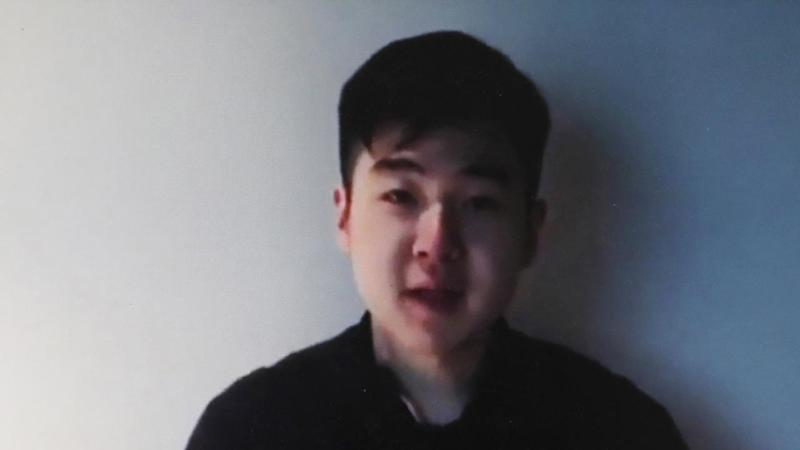 A man has claimed in a video posted online that he is the son of Kim Jong Un's slain half-brother.