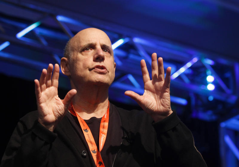 Jeffrey Tambor conducts his acting workshop during the SXSW Film Festival and Conference in Austin, Texas, on Sunday, March 11, 2012. (AP Photo/Jack Plunkett)
