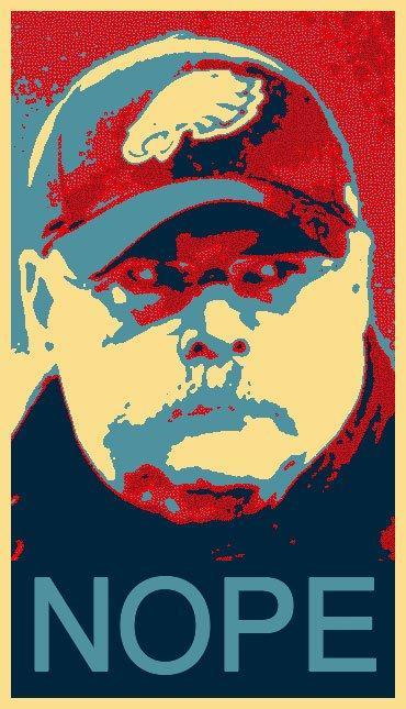 Andy Reid Obama poster