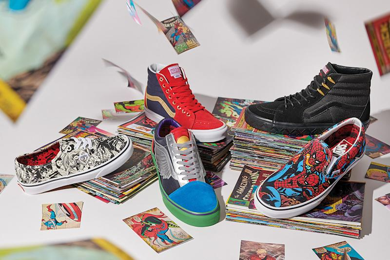 70d162824448 Vans and Marvel Join Forces for Epic Superhero Sneaker Collection