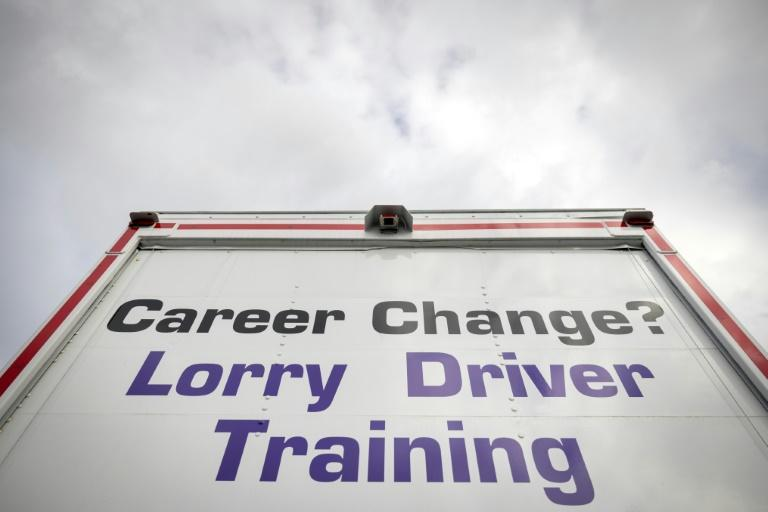 A lorry driver shortage is causing supply chain issues (AFP/Tolga Akmen)