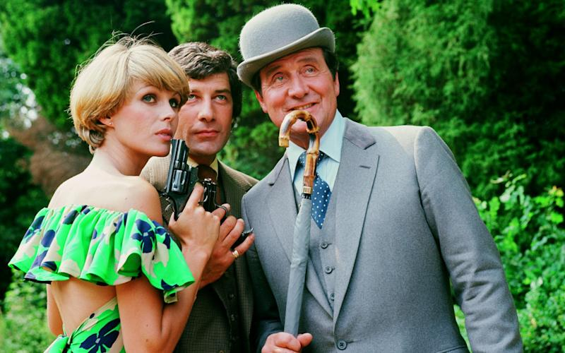 Nifty reinventions: as Purdey in The New Avengers - Hulton Archive