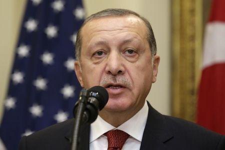 Video Shows Turkish President Recep Tayyip Erdogan Watching Attack on Washington Protesters