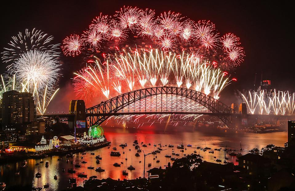Fireworks explode over the Sydney Harbour Bridge as display confirmed for New Years Eve 2020