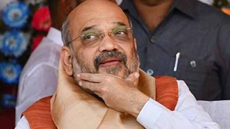 Happy with exit polls, Shah to host dinner for allies