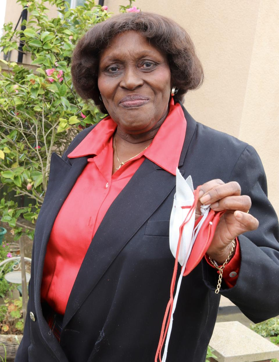 Agnes Slocombe has been a faithful and active member of St John's Church West Hendon for many decades, since she first came to the UK from Barbados as a young woman, the palace said. (Buckingham Palace)