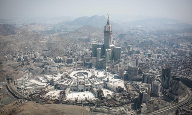 The Muslim holy city of Mecca, Saudi Arabia. Blackburn-based Hashim Travel had organised the trip