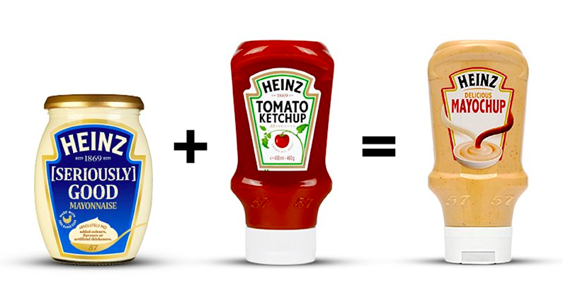 'Mayochup' now exists as a Heinz condiment option