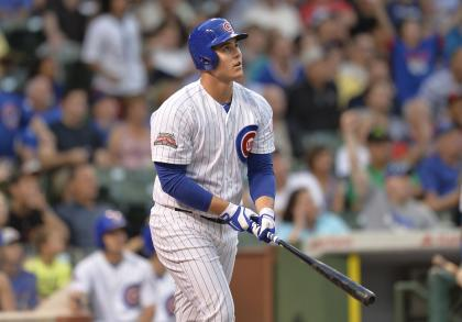 Anthony Rizzo is predicting big things for the Cubbies this season. (Getty)