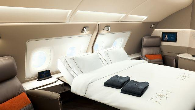 Singapore Airlines A380 suite