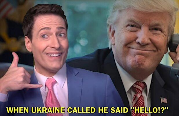 Randy Rainbow's Latest Parody Song Insists Trump Is 'Just a Gurl Who'll Quid Pro Quo' (Video)