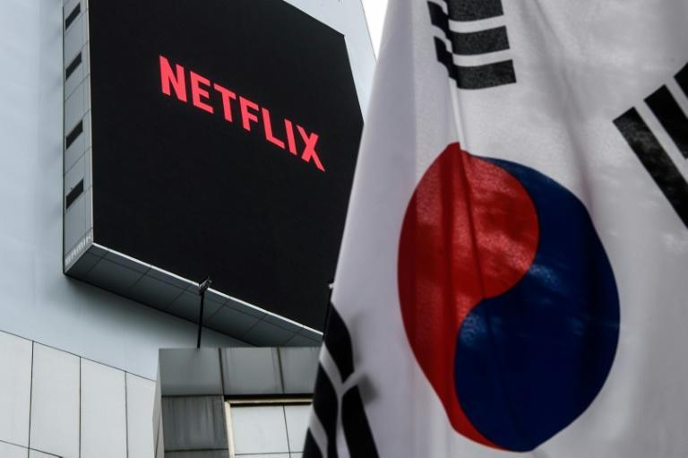 Netflix plans to spend $500 million this year alone on series and films produced in South Korea (AFP/Anthony WALLACE)
