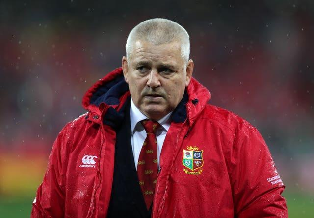 Lions coach Warren Gatland will be monitoring Manu Tuilagi's fitness closely