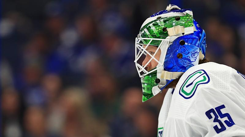 Canucks' Thatcher Demko posts 48-save shutout, sends series with Golden Knights to Game 7