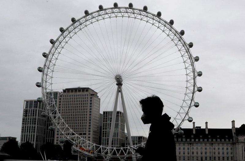 <p>The London Eye is one of the capital's biggest tourist attractions</p>AP